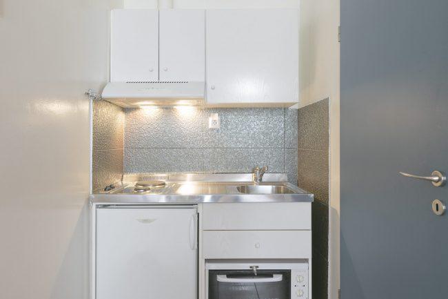 στουντιο 205 κουζινα
